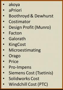 Product Cost Management Software Companies Hiller Associates