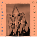2012 Product Cost Management Revenue Assumptions