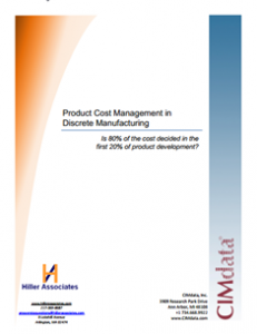 Hiller_Associates_2013_Product_Cost_Management_Research_Report