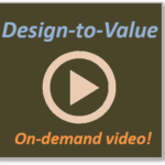 VIDEO -- Design-to-Value:An introduction and the impact it can have in your company